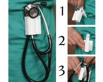 Stethoscope Holster, Stethoscope Holder, Stethoscope Clip