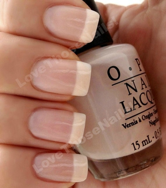 Pink Nail Polish Mini: OPI Perfect Pink & White French Manicure OPI Bubble Bath