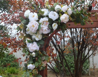 Wedding Arch Flowers, Wedding Arbor decor, Wedding arch decor, Wedding Arch Florals, Chuppah Flowers, Wedding Flowers