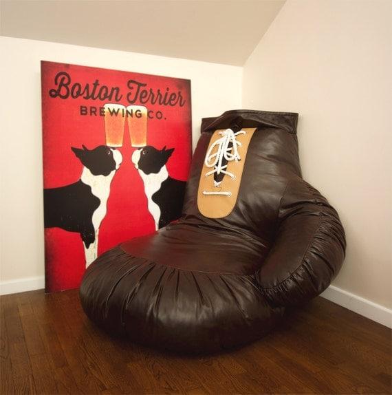 Boxing Glove Bean Bag Chair