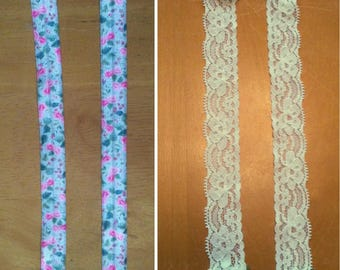Pretty bra strap covers - just snap on