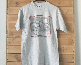 Vintage Montana Shirt // Vintage Drunk Shirt // Vintage Montana DD Shirt