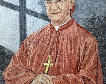 Custom Mosaic - Lebanese Patriarch