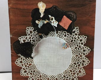 Tatting Instruction, Tatting Patterns, Tatting Book 1970's Coats Clark's 240, Pillow Cases,Place Mats,Doll Clothes, Book Marks,Doily Edgings