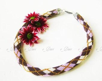 """Necklace """"Purple sweater"""""""
