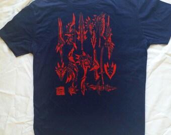 Monster Hunter Lagiacrus Shirt