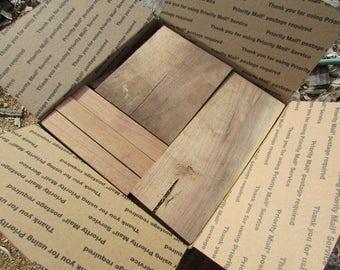 12lb box of reclaimed Black Walnut