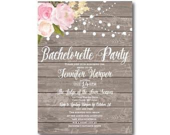 PRINTABLE Bachelorette Party Invitation, Bachelorette Party Invitation, Girls Night Out, Printable Invitation, Bachelorette Party #CL138