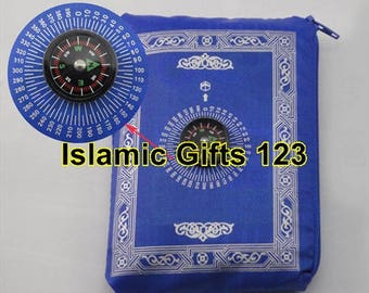 Portable Prayer pocket Mat 3-6-12 Wholesale  Lots-Ramadan Gift-Islamic Gifts 123-FREE SHIPPING-US Seller---