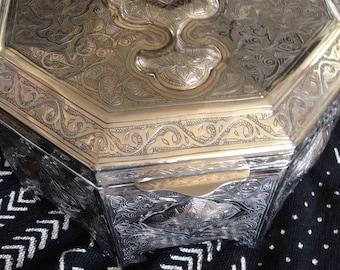 Yemeni jewellery box