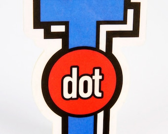 T Dot Icon Air Freshener