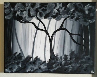 Black Forest Painting