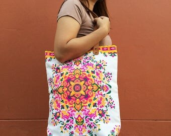 Coachella Party / Canvas Tote bag / Spring / Wedding Gift / Woman / Gift for Her