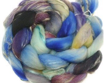 Merino rustico No. 116 handyed combed top roving for spinning #17607