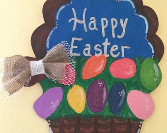 Let's DIY Club - DIY Kits for Kids and their Families - Easter Basket Sign