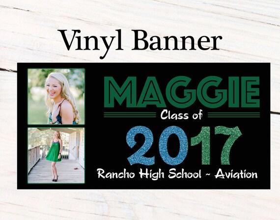 graduation class of 2017 photo banner congrats grad