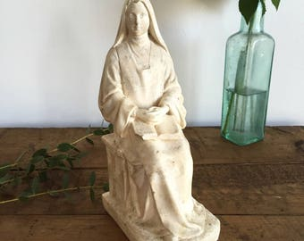 Vintage French Religious Figurine
