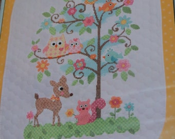 Cross Stitch Baby Quilt kit - new in package!