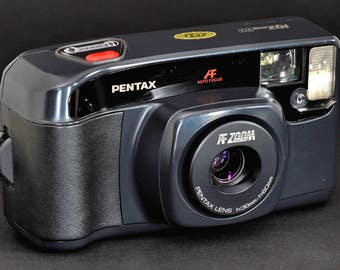Pentax AF IQZoom 60 w 38-60mm Lens 35mm Camera Collectible IQ Zoom60 NiCE !