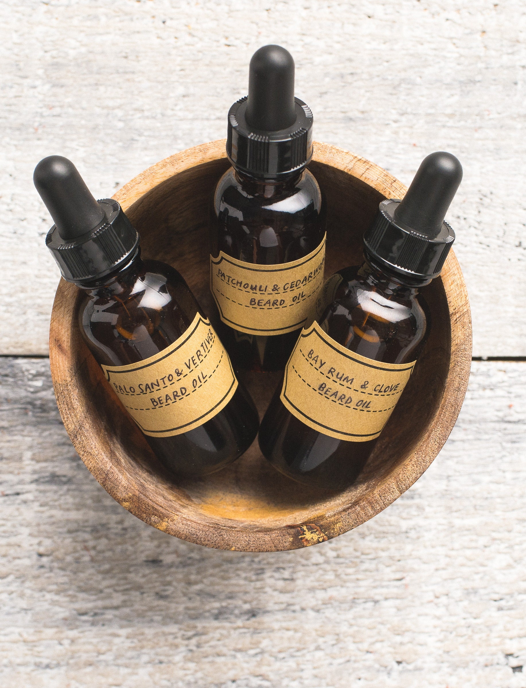 how to make my own beard oil