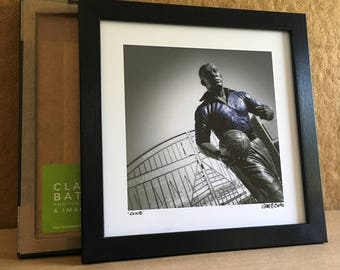 Dixie Dean - Dixie Dean Statue - Everton FC - Goodison Park - Everton Supporter - Present for Everton Fan - Fans of Everton - Original Art