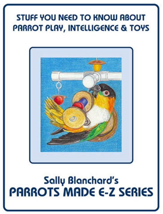 Sally Blanchard's Parrots Made E-Z: Play I Developing Intelligence and Toys