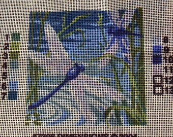 Needlepoint Kit Dragonfly Dimensions 7206 Fiber Art Kit