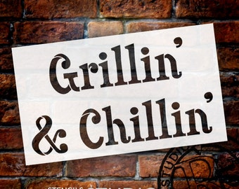 grillin and chillin etsy. Black Bedroom Furniture Sets. Home Design Ideas