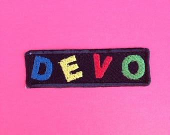 Devo Iron-on Patch