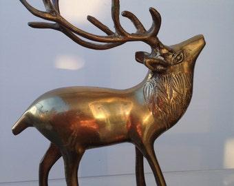 Vintage Scandinavian copper deer,