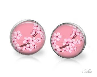 Earrings cherry blossoms 62