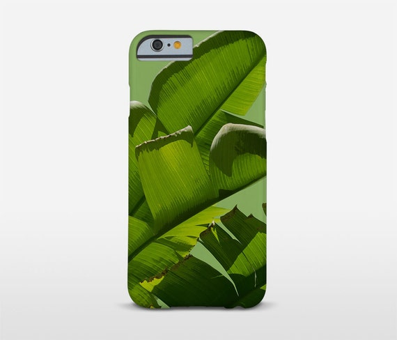 Leaf Phone Case, Banana Leaves, Green Phone Cases, Tough Cases, iPhone 7 Cases, iPhone Plus Case, Samsung Cases, Xperia Phones, Moto Case...