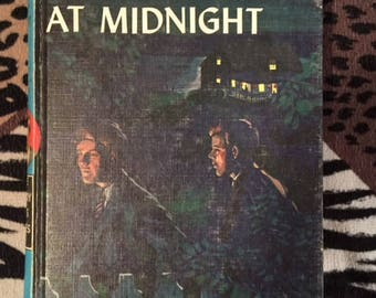 """The Hardy Boys, Book 10 """"What Happened At Midnight"""" Hardcover"""