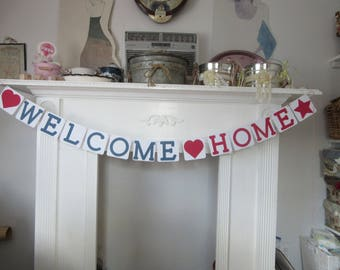 Welcome Home Banner Home Coming Banner Military Welcome Home