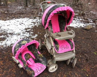 mossy oak hot pink etsy. Black Bedroom Furniture Sets. Home Design Ideas