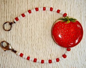 Bracelet STRAWBERRY GOURMET ref BRA14