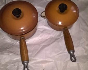 Gorgeous Pair of Iron pots