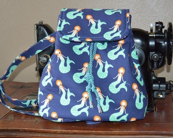 Mermaid Backpack Purse