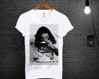 Men's Enjoy Cocaine T-shirt Funny Parody Retro Drug Tank Top Tee Shirt MD199