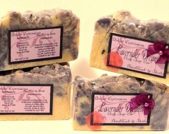 Lavender Dreams Body Soap Bar (Handmade)