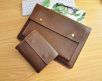 """13Inch Laptop Sleeve Leather Macbook Pro 13""""Sleeve Macbook Pro Retina Case Macbook Pro 13 Leather Case for Macbook Air 13,Macbook Air 11-107"""