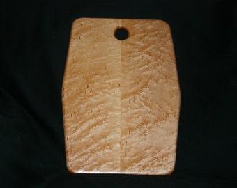 Bird's Eye Maple Cutting/Serving Board - 11 by 15-1/2 inch