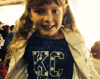 Girl's Kansas City Bling Top