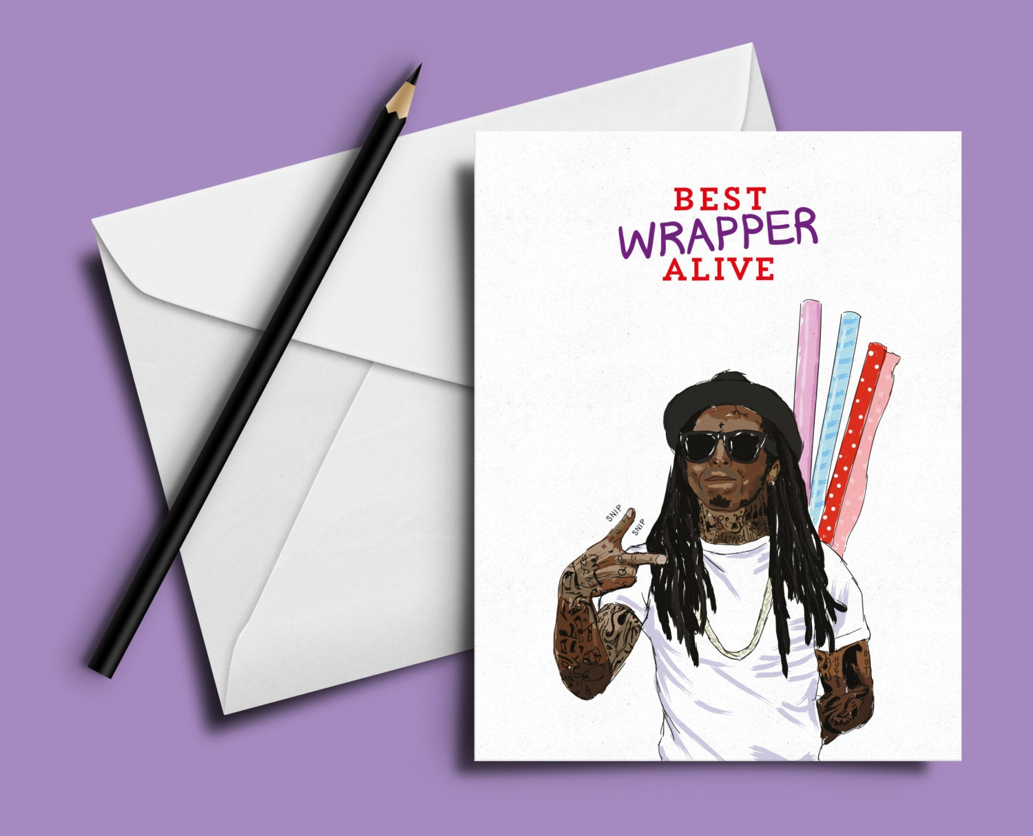 lil wayne birthday card u0027best wrapper alive u0027 hip