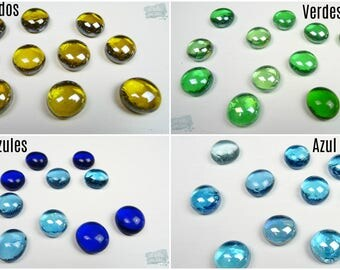 Gems of glass / Nuggets of glass (small)