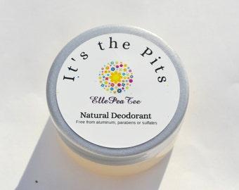 Natural Deodorant - Deodorant - Natural -  Aluminum Free - Vegan - Deodorant cream - Essential oils - Handmade deodorant -