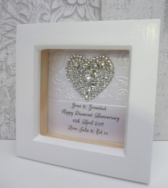 Crystal Wedding Anniversary Gift: 60th Anniversary Gift, 15th Wedding Anniversary Gift