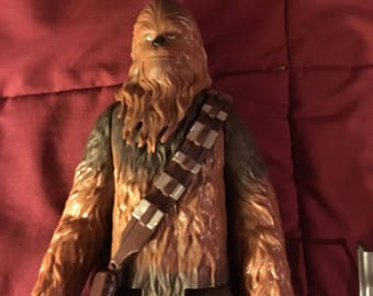 "13"" Chewbacca figure Star Wars"