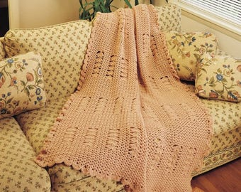 Peach Shells Afghan