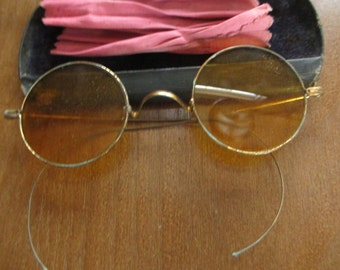 Vintage Eye Glasses with Case